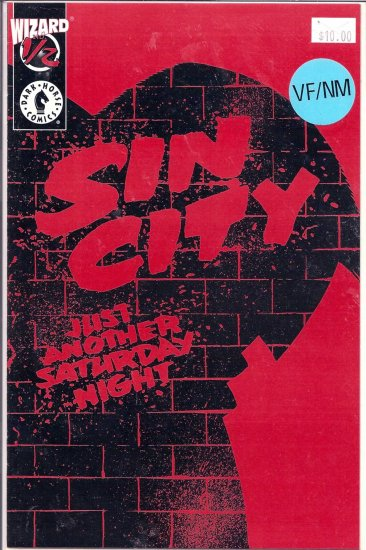 Sin City Just Another Saturday Night # 0.5, 9.0 VF/NM