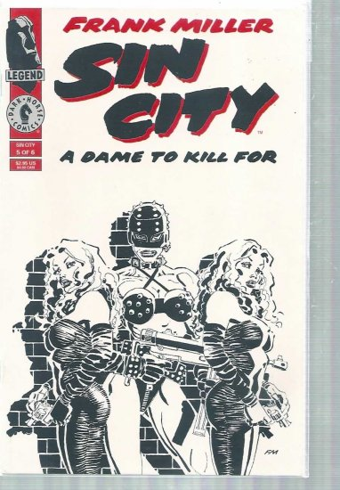 SIN CITY, A DAME TO KILL FOR # 5, 6.5 FN +