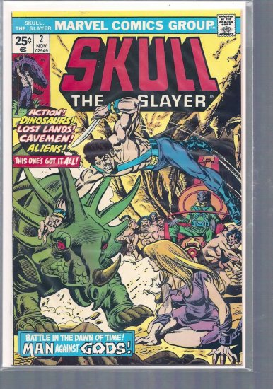 SKULL THE SLAYER # 2, 5.0 VG/FN