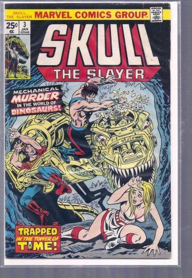 SKULL THE SLAYER # 3, 4.5 VG +