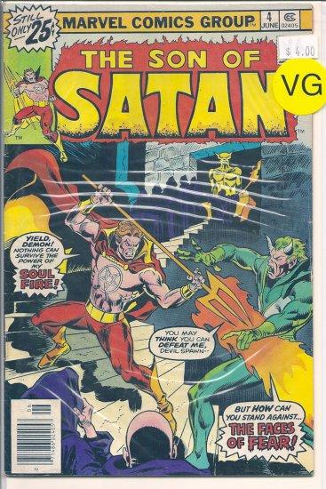 Son of Satan # 4, 4.0 VG