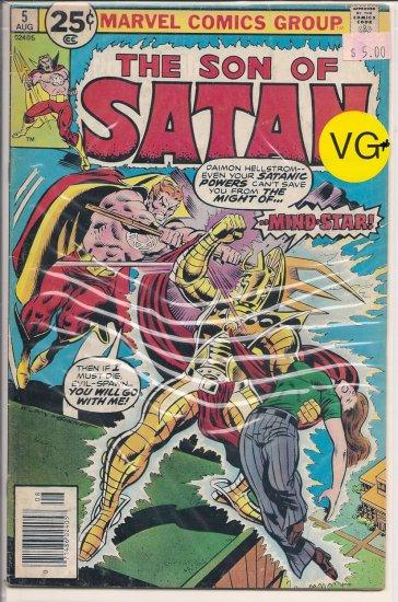 Son of Satan # 5, 4.5 VG +