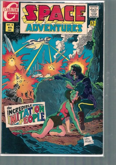 SPACE ADVENTURES # 5, 4.5 VG +
