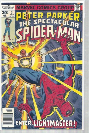 SPECTACULAR SPIDER-MAN # 3, 8.5 VF +