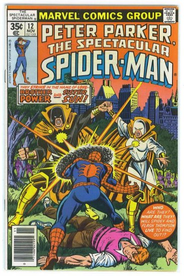 Spectacular Spider-Man # 12, 7.0 FN/VF
