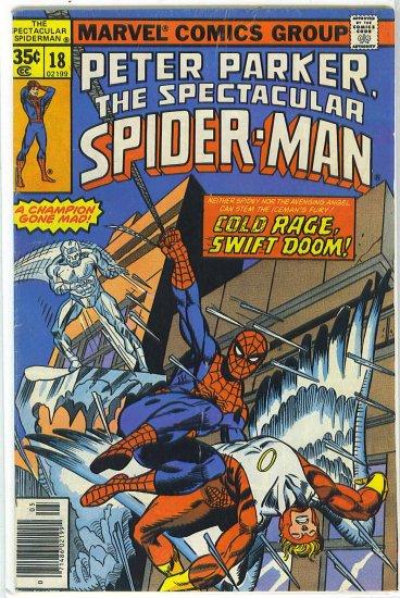 Spectacular Spider-Man # 18, 4.0 VG