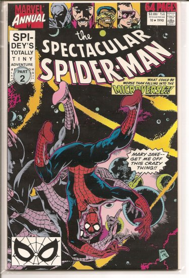 Spectacular Spider-Man Annual, Peter Parker # 10, 7.5 VF -