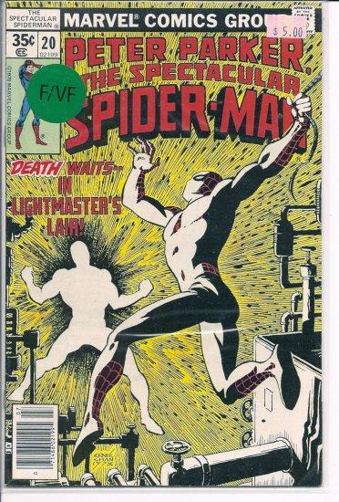 Spectacular Spider-Man, Peter Parker # 20, 7.0 FN/VF