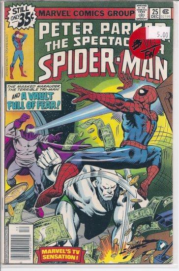 Spectacular Spider-Man, Peter Parker # 25, 5.5 FN -