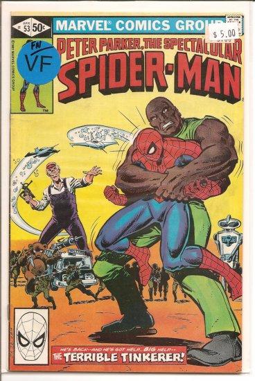 Spectacular Spider-Man, Peter Parker # 53, 7.0 FN/VF