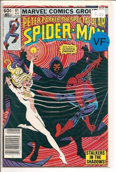 Spectacular Spider-Man, Peter Parker # 81, 7.5 VF -