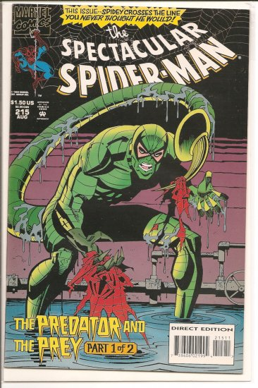 Spectacular Spider-Man, Peter Parker # 215, 7.5 VF -
