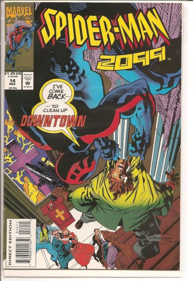 Spider-Man 2099 # 14, 7.0 FN/VF