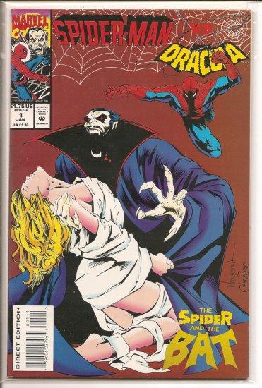 Spider-Man vs. Dracula # 1, 9.0 VF/NM