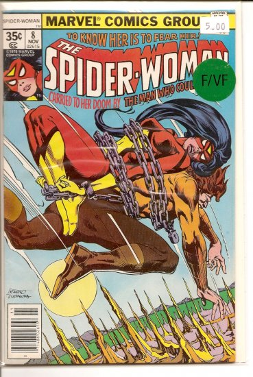 Spider-Woman # 8, 7.0 FN/VF