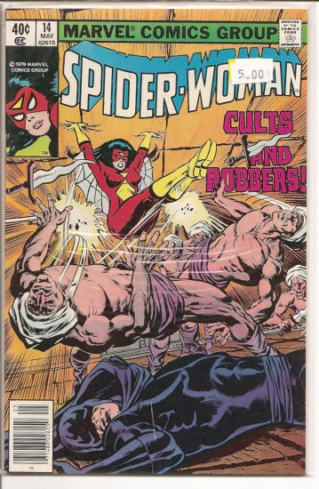 Spider-Woman # 14, 9.2 NM -