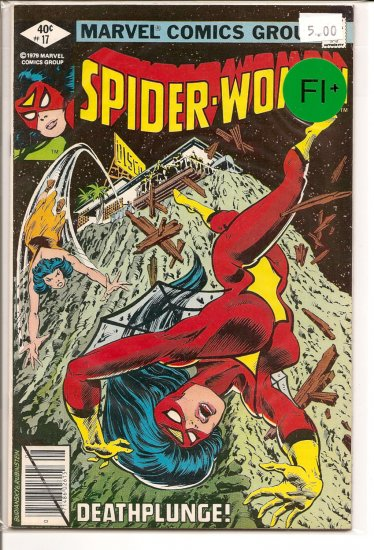 Spider-Woman # 17, 6.5 FN +