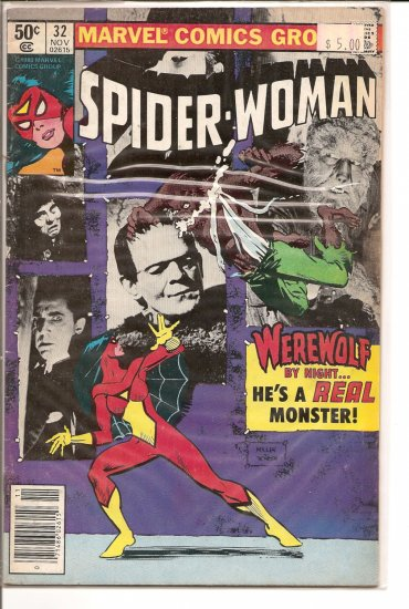 Spider-Woman # 32, 6.5 FN +