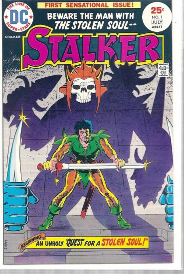 STALKER # 1, 4.5 VG +