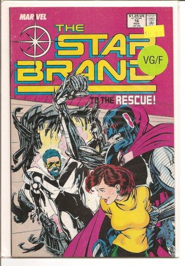 Star Brand # 16, 5.0 VG/FN