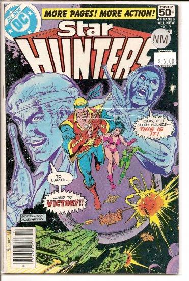 Star Hunters # 7, 9.4 NM