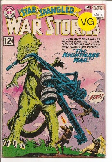 Star Spangled War Stories # 106, 4.0 VG