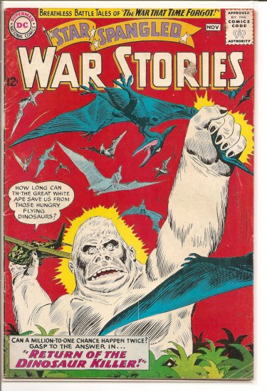 Star Spangled War Stories # 111, 4.0 VG
