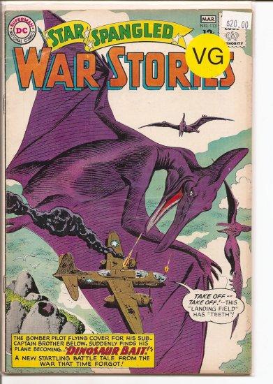 Star Spangled War Stories # 113, 4.0 VG