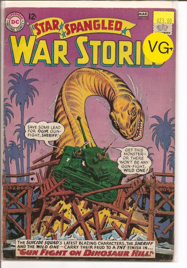 Star Spangled War Stories # 119, 4.5 VG +