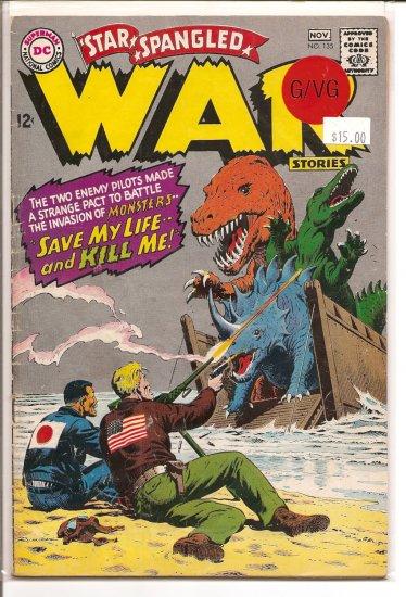 Star Spangled War Stories # 135, 3.0 GD/VG