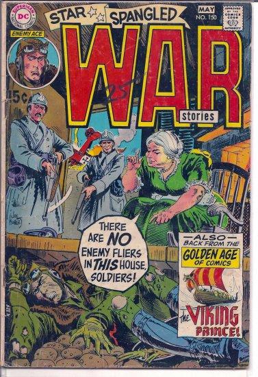 STAR SPANGLED WAR STORIES # 150, 3.0 GD/VG