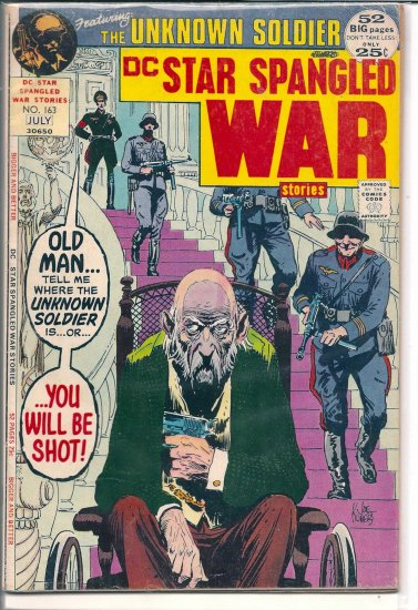 STAR SPANGLED WAR STORIES # 163, 4.0 VG