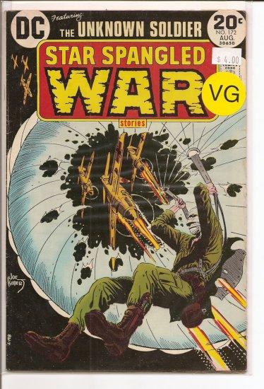 Star Spangled War Stories # 172, 4.0 VG