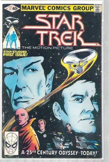 STAR TREK # 1, 4.5 VG +