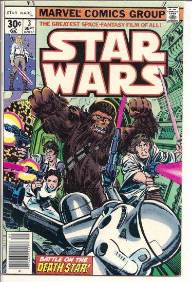 STAR WARS # 3, 4.5 VG +