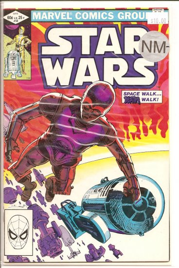 Star Wars # 58, 9.2 NM -