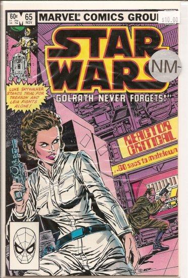 Star Wars # 65, 9.2 NM -