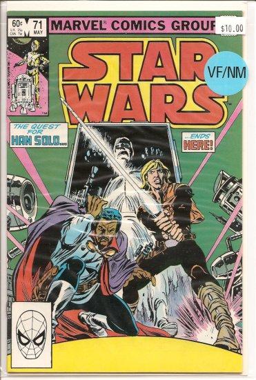 Star Wars # 71, 9.0 VF/NM