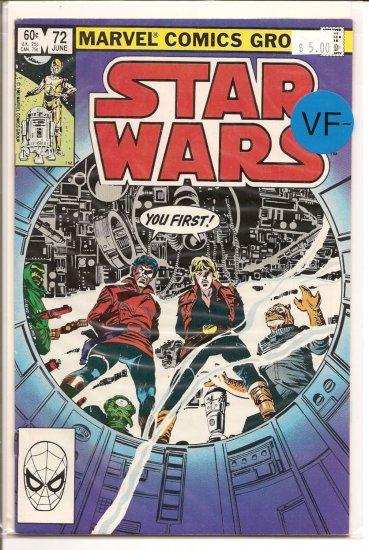 Star Wars # 72, 7.5 VF -