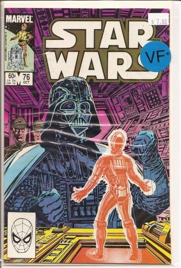 Star Wars # 76, 8.5 VF +