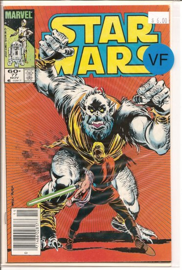 Star Wars # 77, 8.0 VF