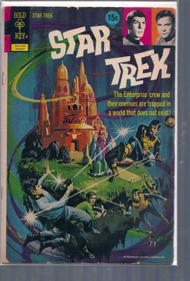 STAR-TREK # 15, 2.5 GD +