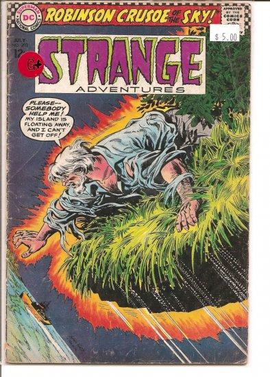 Strange Adventures # 202, 2.5 GD +