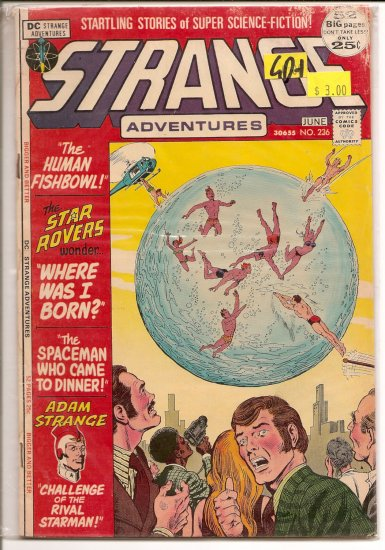 Strange Adventures # 236, 2.5 GD +
