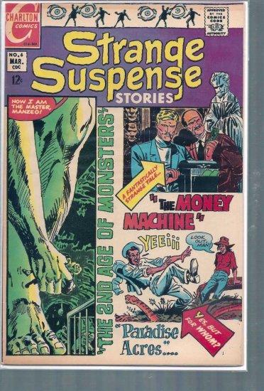 STRANGE SUSPENSE STORIES # 6, 7.5 VF -