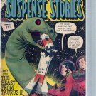 STRANGE SUSPENSE STORIES # 62, 4.5 VG +