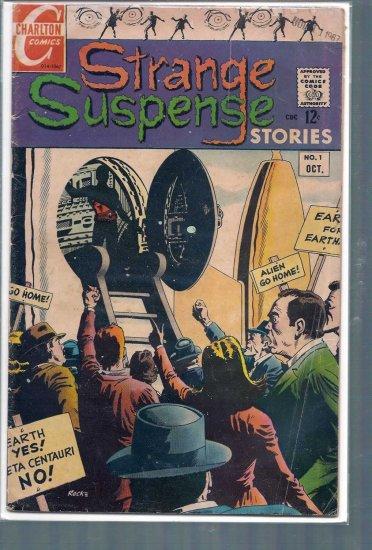STRANGE SUSPENSE STORIES VOLUME 3 # 1, 4.0 VG