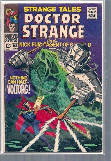 STRANGE TALES # 166, 3.5 VG -