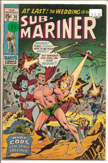 Sub-Mariner # 36, 6.0 FN