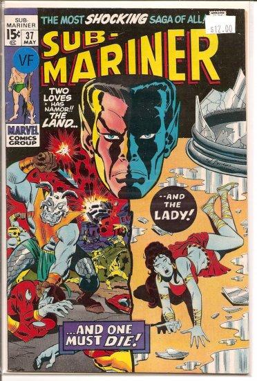 Sub-Mariner # 37, 8.0 VF